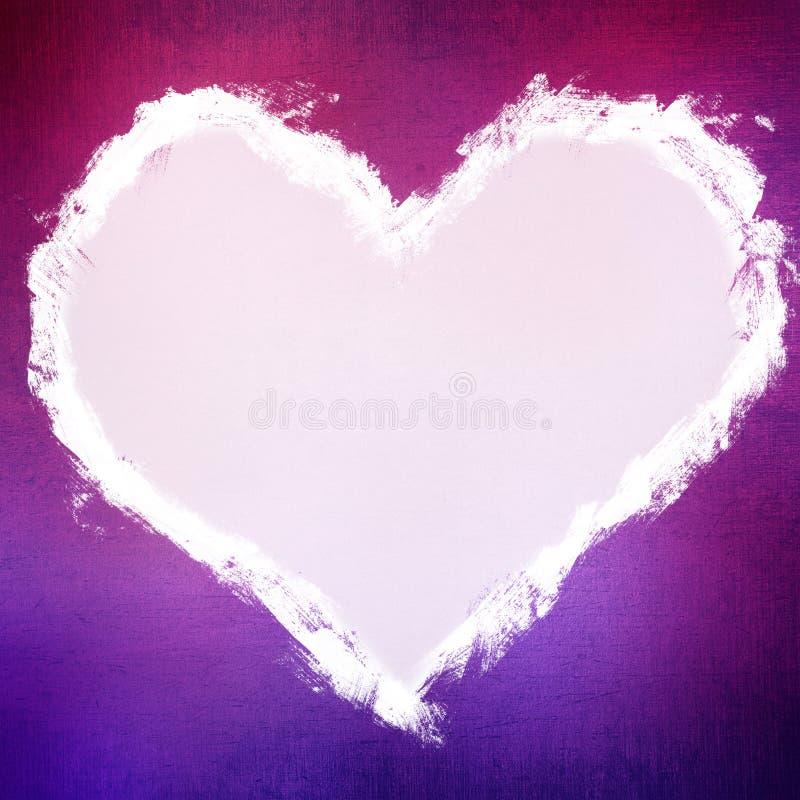 Предпосылка Grungy валентинки иллюстрация штока