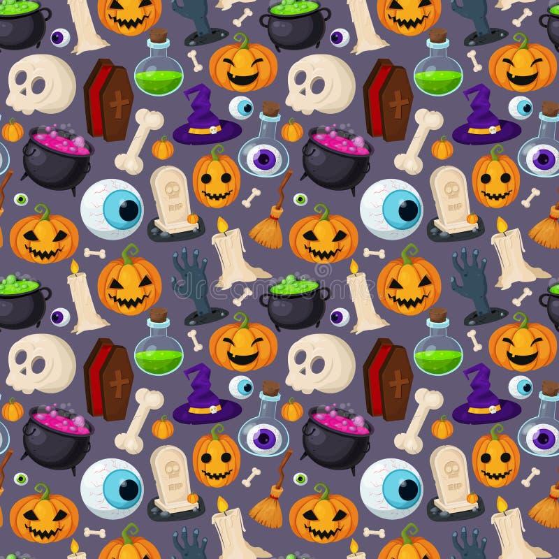 предпосылка halloween счастливый иллюстрация вектора