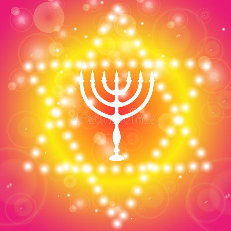 предпосылка hanukkah счастливый Подсвечник - Ханука