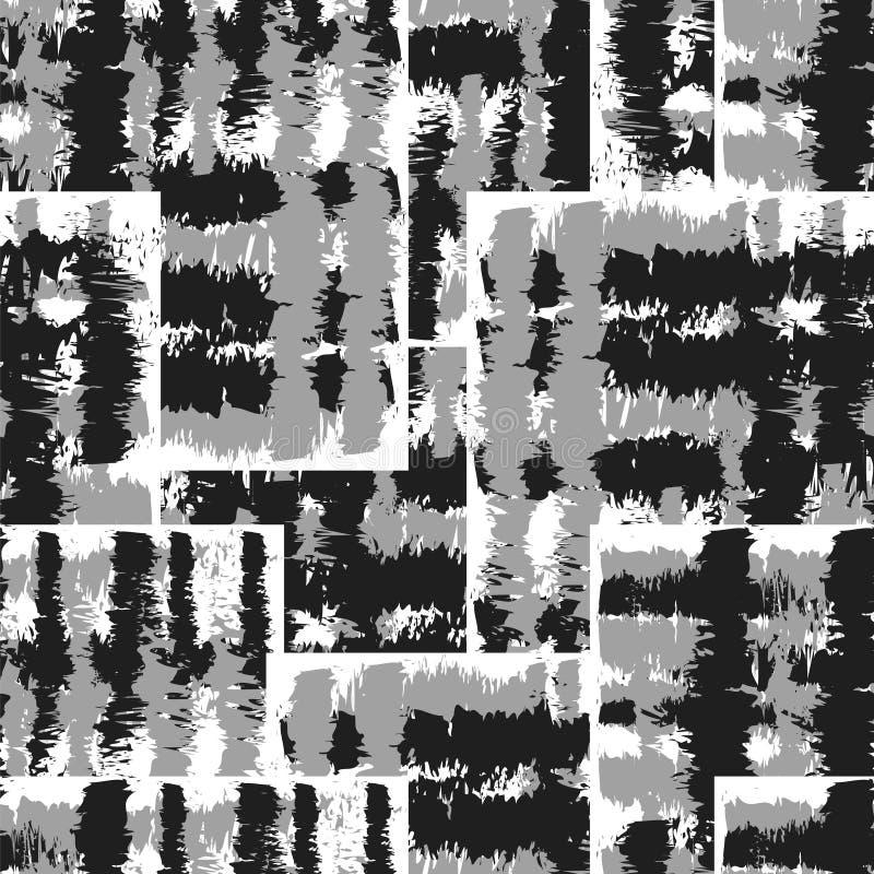 Предпосылка 39 Ikat Ogee иллюстрация вектора