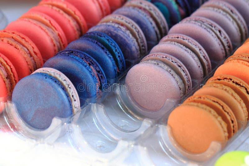 Предпосылка macaroon цвета стоковые изображения