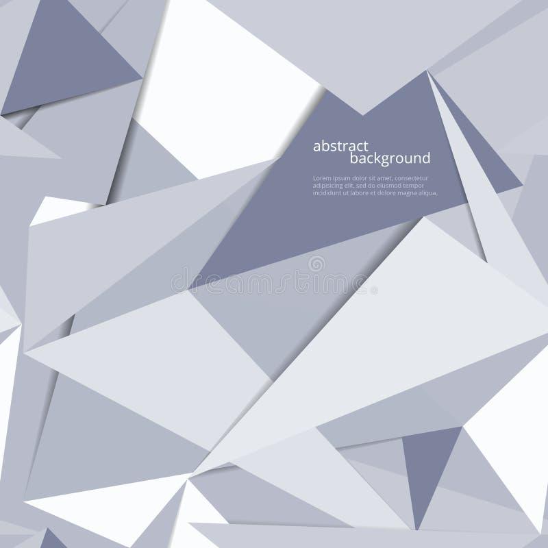 Предпосылка Origami геометрическая бесплатная иллюстрация