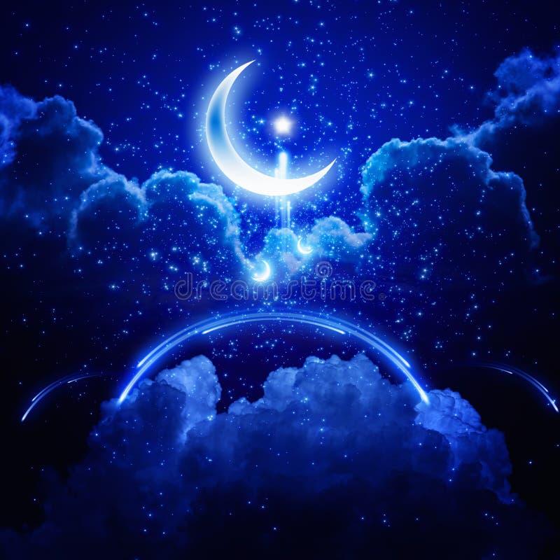 предпосылка ramadan иллюстрация штока