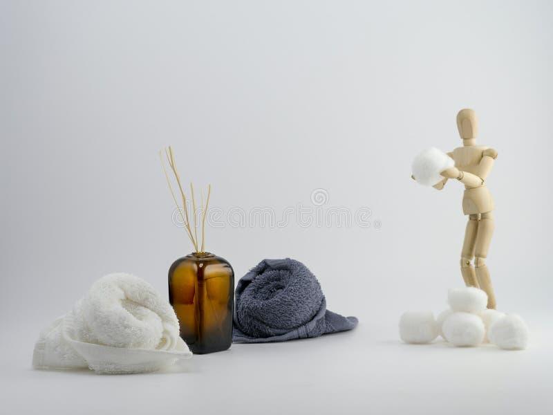 Предпосылка Skincare стоковое изображение