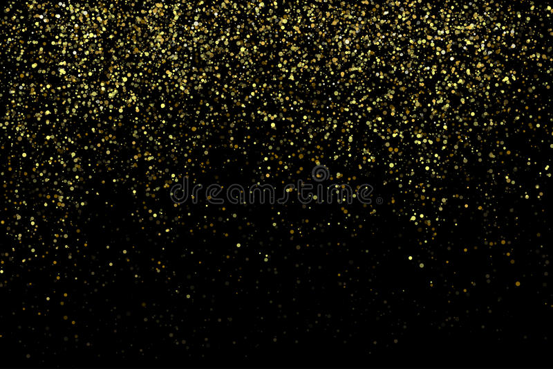 Предпосылка stardust искры золота вектора блестящая иллюстрация вектора