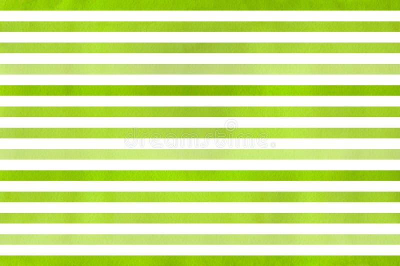 Предпосылка striped акварелью бесплатная иллюстрация
