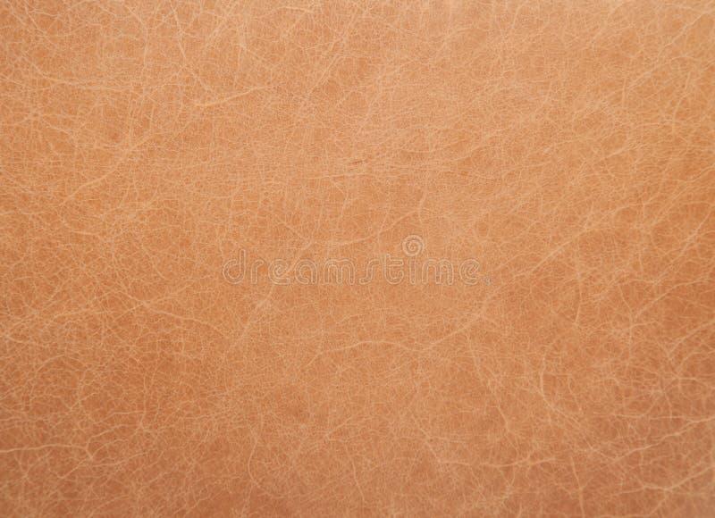 Предпосылка Tan кожаная абстрактная стоковое фото