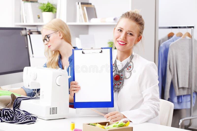 Предприниматели студии моды стоковое фото