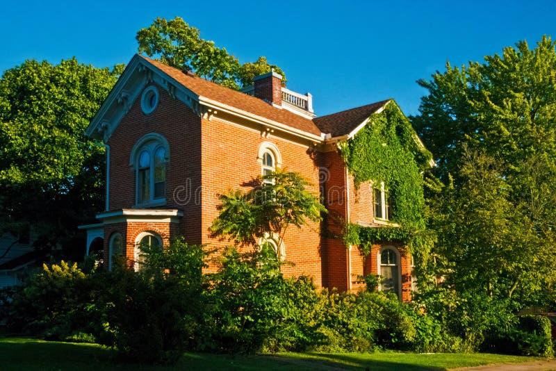 Представительный дом Buchanan стоковые изображения