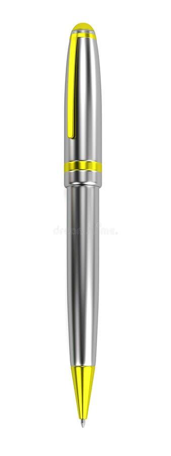 Представьте инструмента канцелярских принадлежностей - ручки бесплатная иллюстрация
