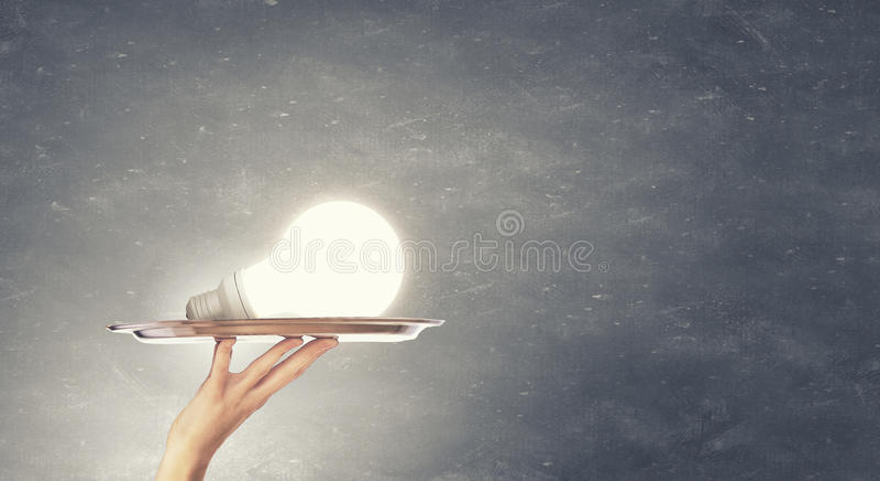 Представление идеи стоковая фотография rf