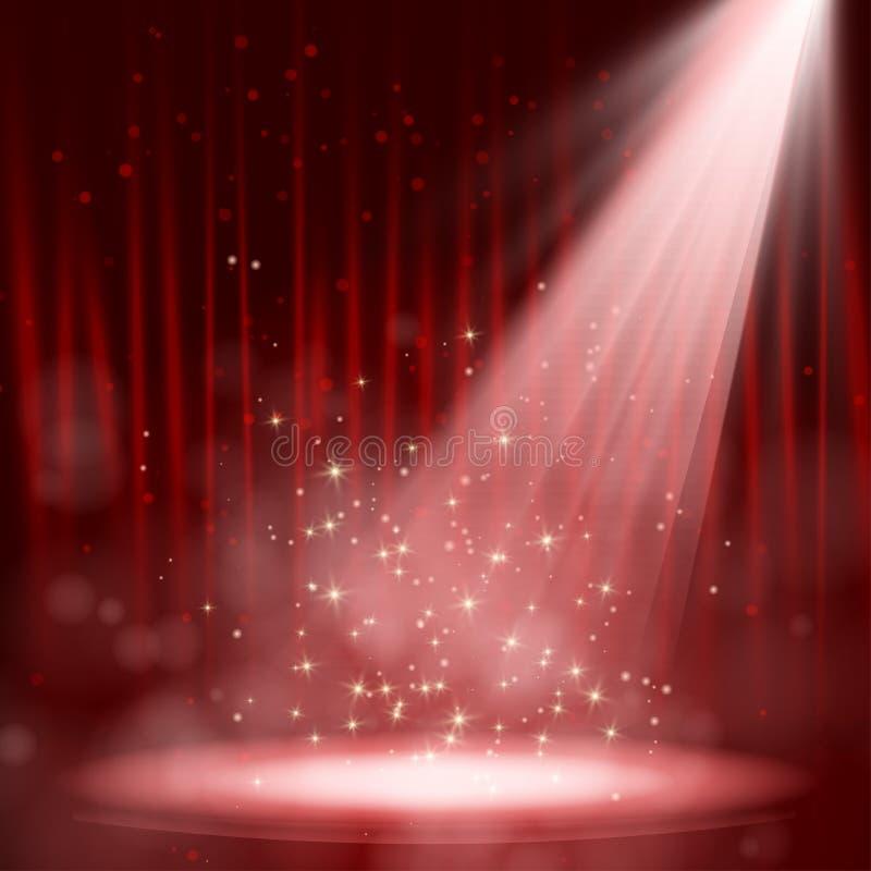 Представление ночи. бесплатная иллюстрация