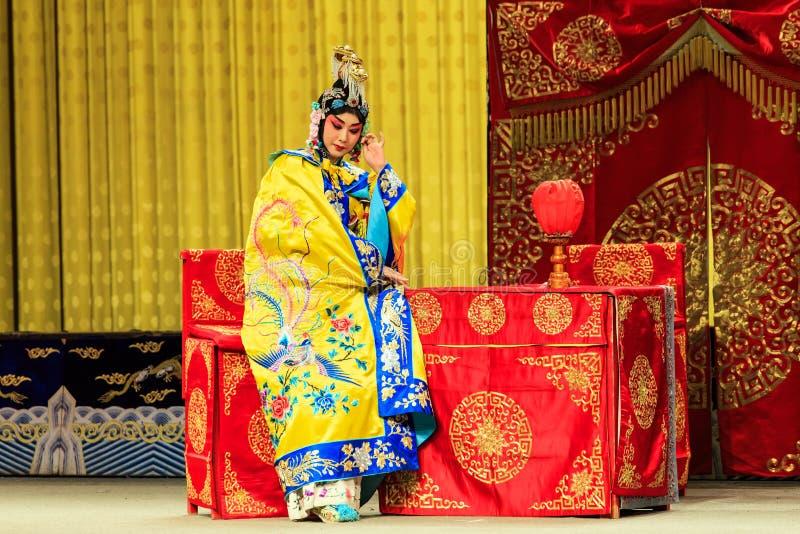 Представление оперы Пекина стоковая фотография