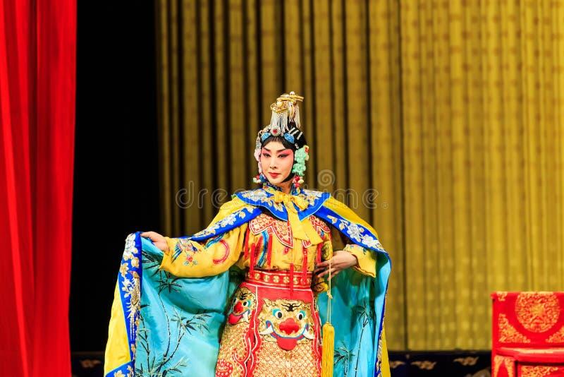 Представление оперы Пекина стоковое изображение rf