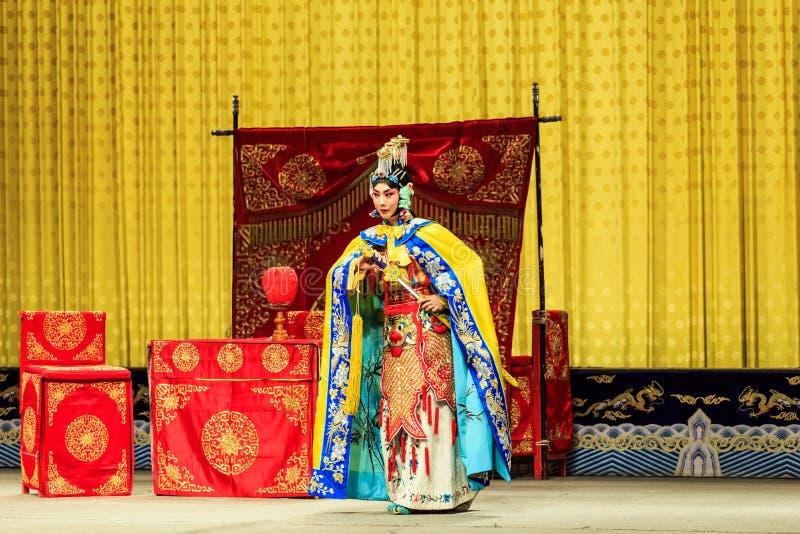 Представление оперы Пекина стоковое фото