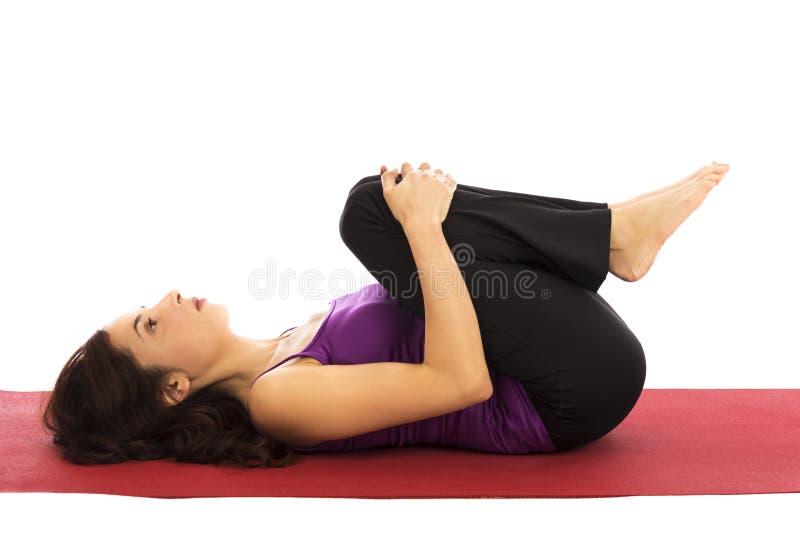 Представление релаксации йоги стоковые изображения rf
