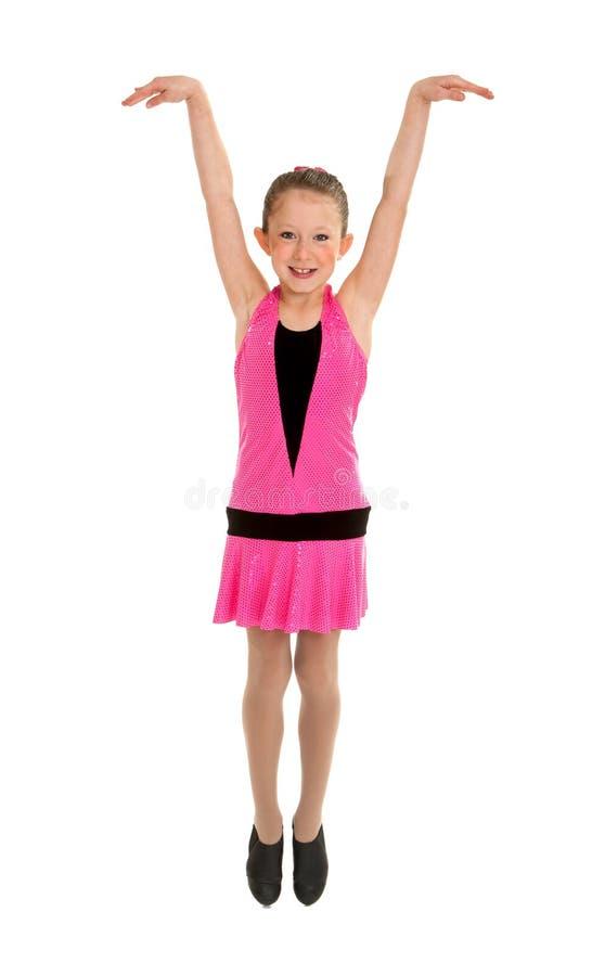 Представление студента танца крана стоковые фото