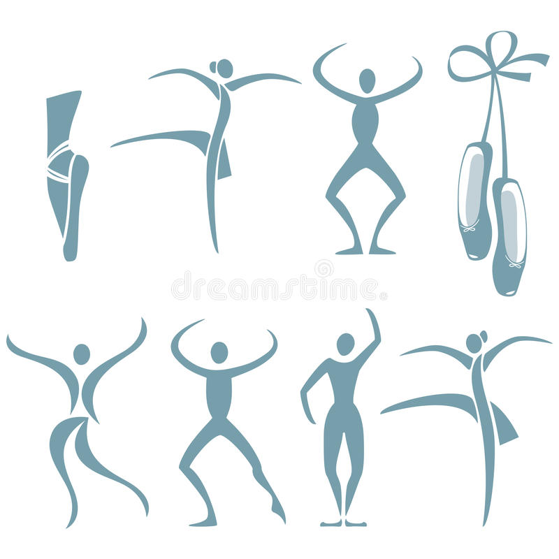 Download Представления танца иллюстрация вектора. иллюстрации насчитывающей люди - 40575940