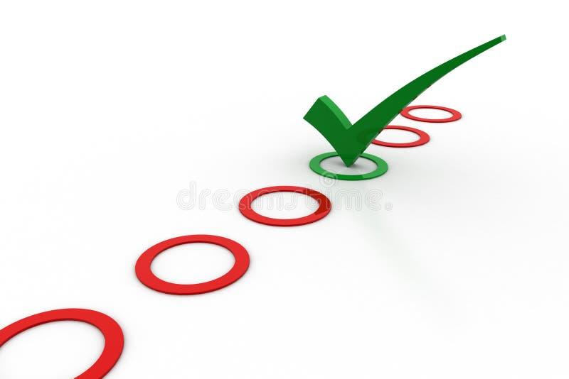 представленное изображение контрольной пометки 3d бесплатная иллюстрация