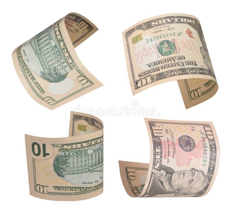 представляет счет доллары 10 стоковые фотографии rf