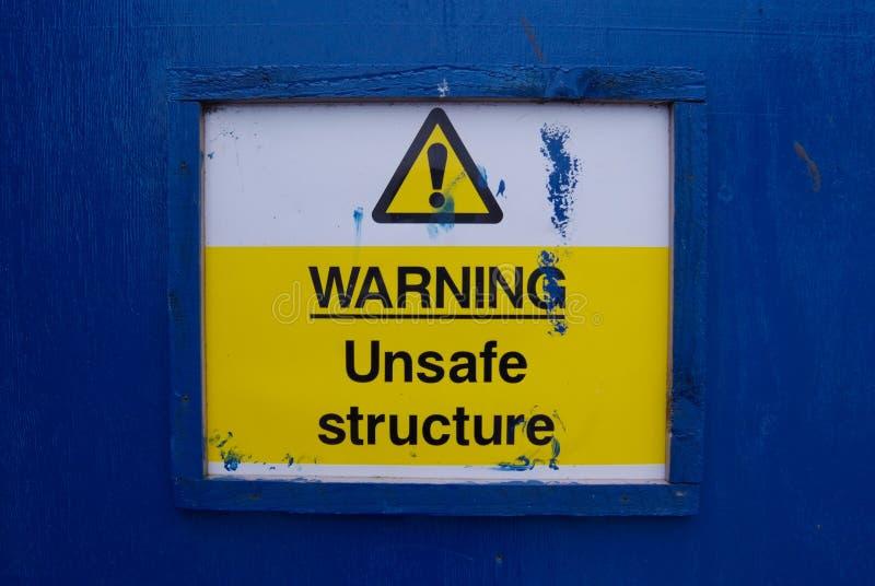 Предупреждение!! Опасный стоковые фото