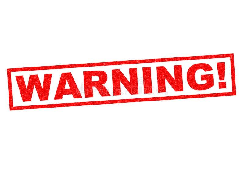Предупреждение! иллюстрация вектора