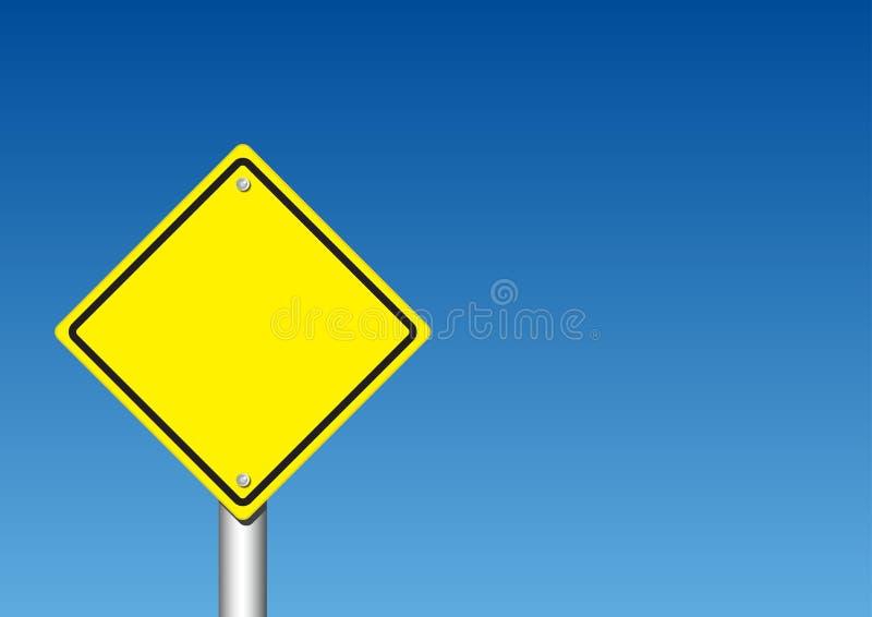Предупредительный знак иллюстрация штока