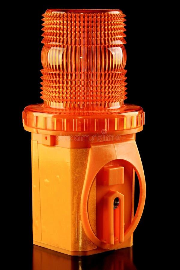 Предупредительный световой сигнал стоковая фотография rf