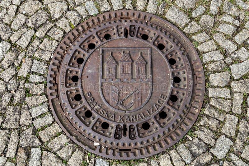 Предусматрива буерака в Праге стоковое изображение