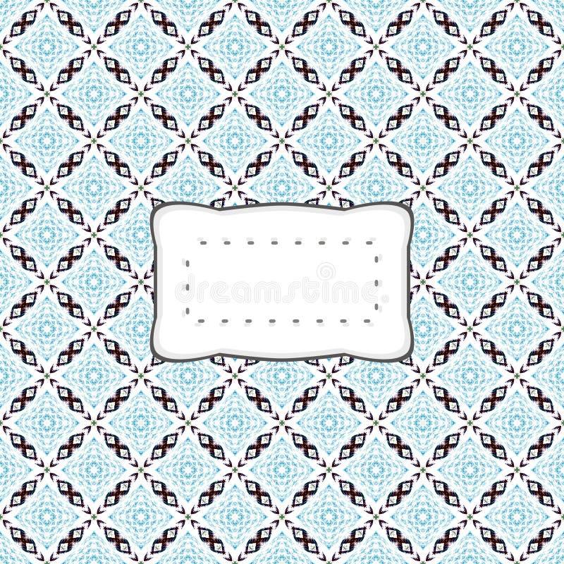 Предусматрива или знамя Workpad с ретро стикером бесплатная иллюстрация