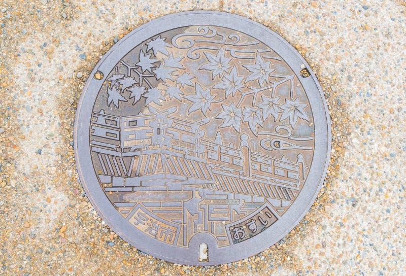 предусматрива дренажа в Киото стоковое фото