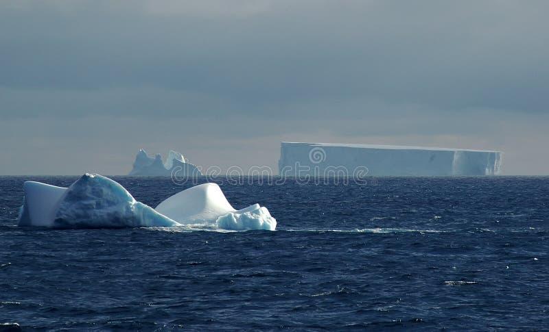 приантарктический пейзаж айсберга стоковое фото