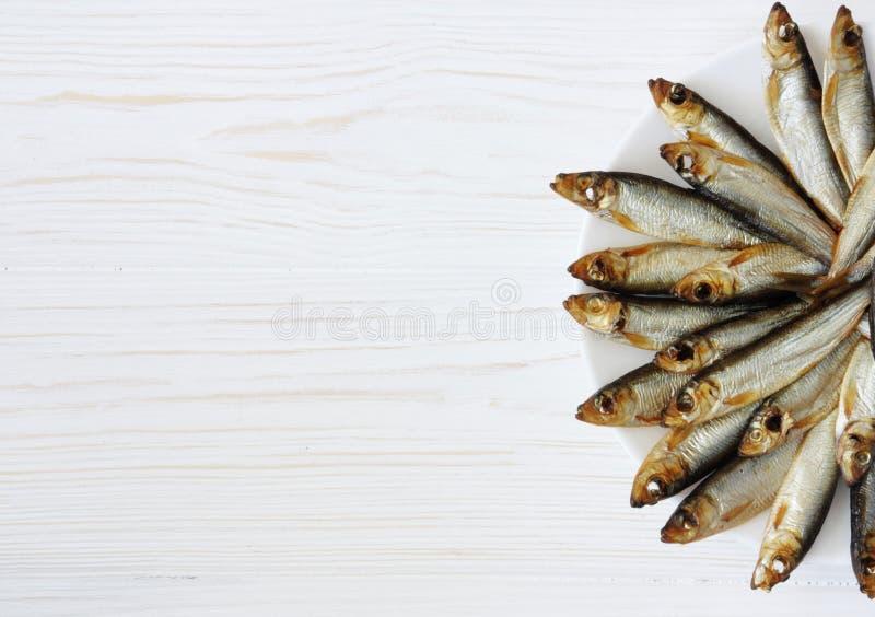 Прибалтийские копченые рыбы стоковое изображение