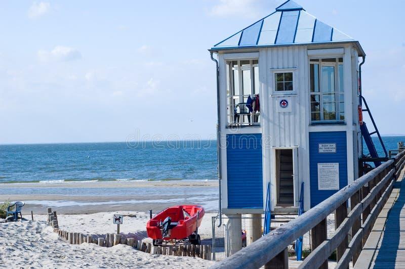 прибалтийское море пристани пляжа стоковые фотографии rf