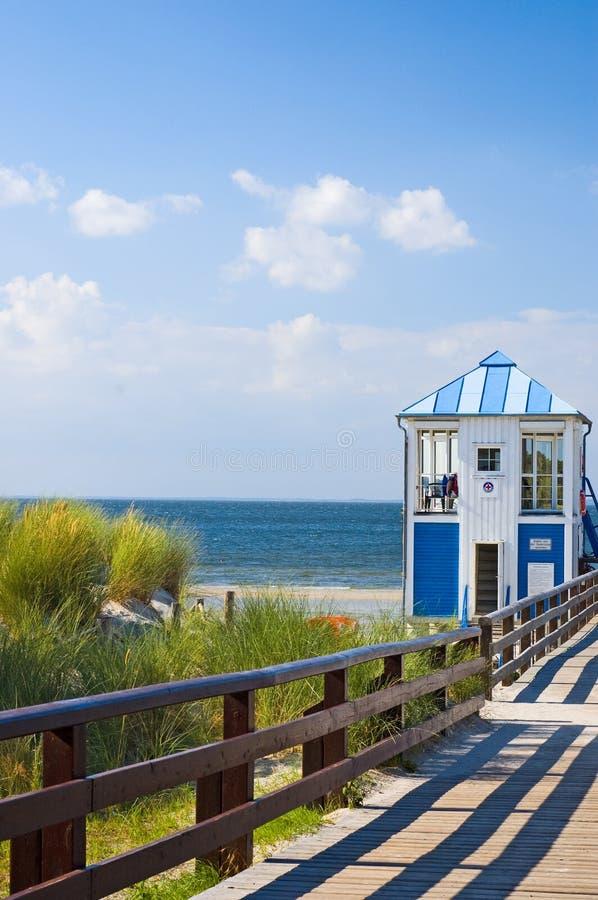 прибалтийское море пристани стоковое фото rf
