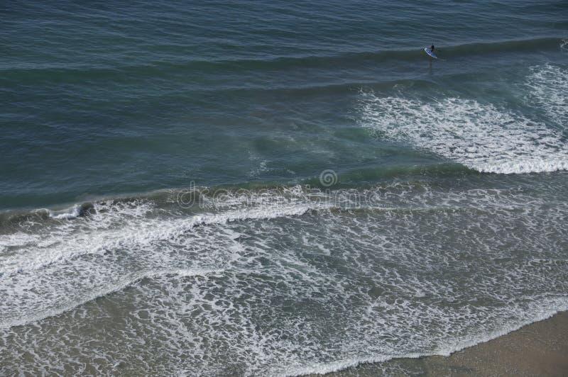 прибой пляжа стоковое изображение