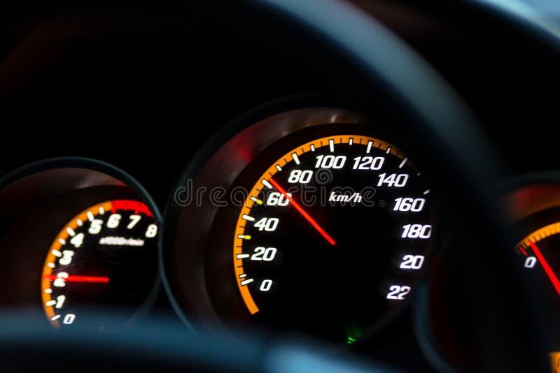 Приборный щиток автомобиля стоковое изображение rf