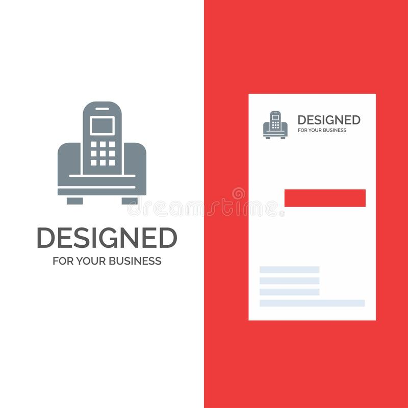 Прибор, чернь, клетка, дизайн логотипа оборудования серые и шаблон визитной карточки бесплатная иллюстрация
