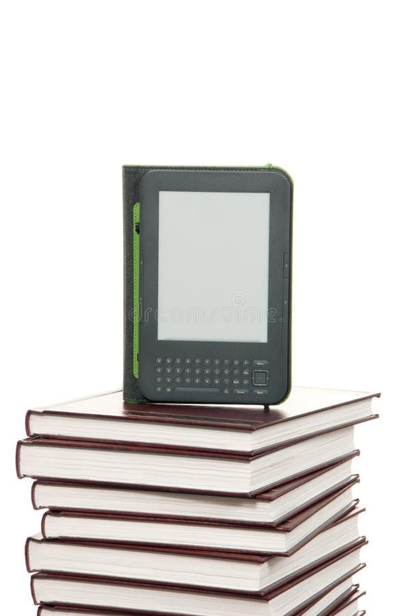 прибор e книги разжигает радиотелеграф чтения стоковое изображение rf