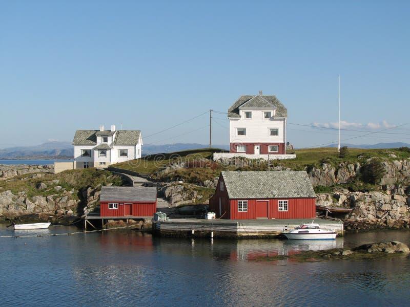 прибрежная Норвегия стоковые изображения rf