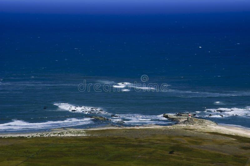 Прибрежный остров Mocha края, Чили стоковые изображения