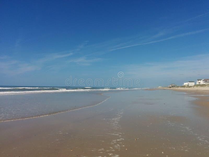 Прибрежный фронт стоковая фотография rf