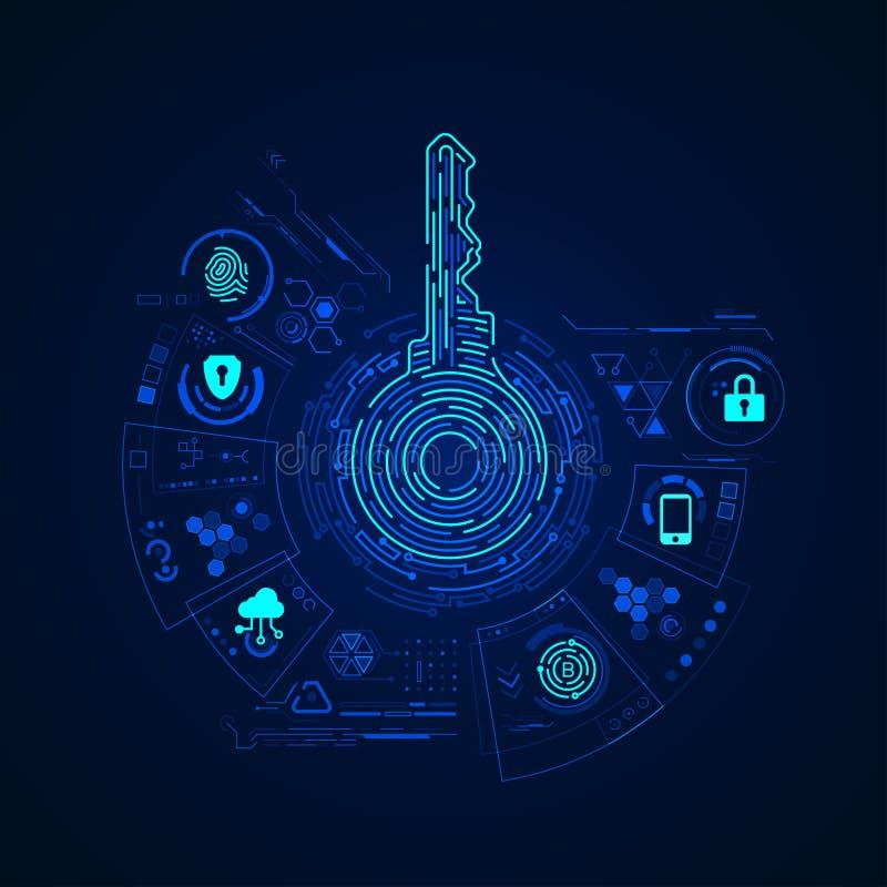 Приватный ключ бесплатная иллюстрация