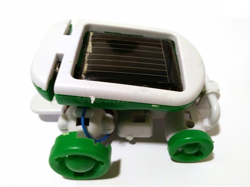 Приведенная в действие машина солнечные стоковая фотография