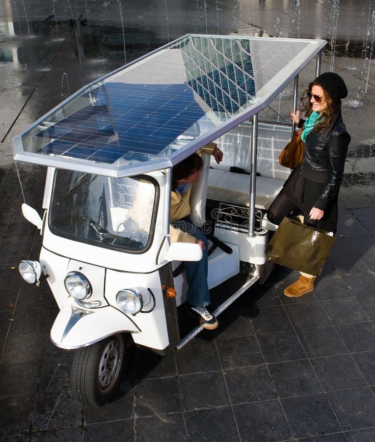 приведенное в действие солнечное tuc стоковые фотографии rf