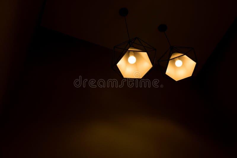 Привесная лампа 2 стоковое изображение
