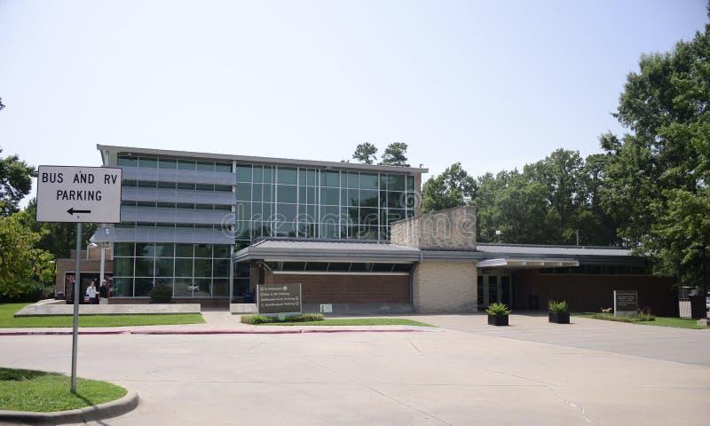 Приветственный центр Texarkana Техаса стоковое фото