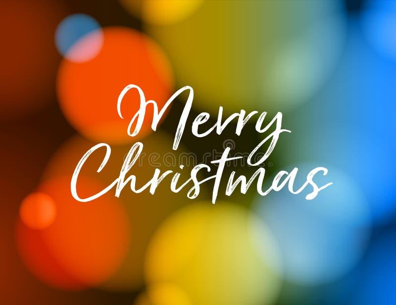 приветствие рождества карточки веселое Вектор EPS 10 иллюстрация штока
