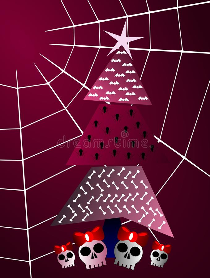 приветствие рождества карточки готское бесплатная иллюстрация