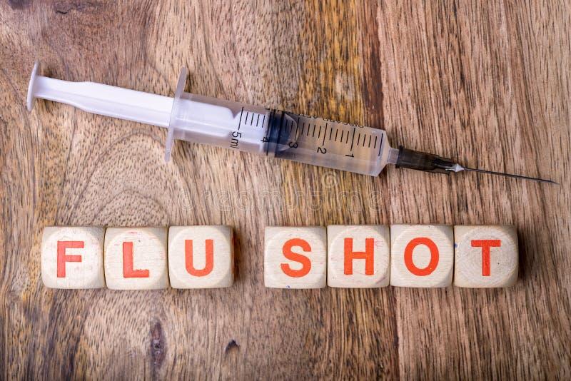 Прививка от гриппа стоковые фото